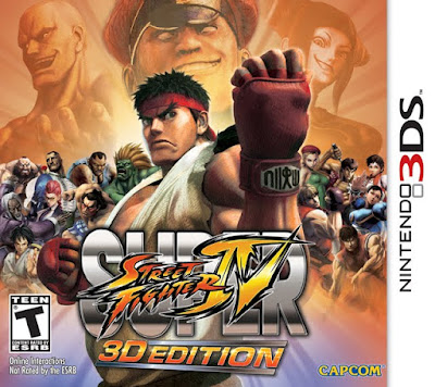 STREET FIGHTER IV 3D EDITION Decryted 3DS USA