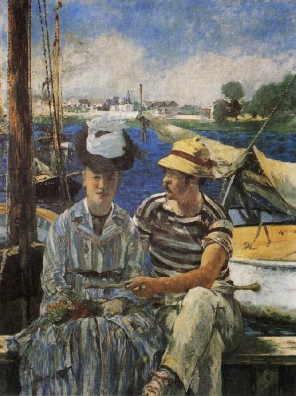 Argenteuil - Pinturas impressionistas pintadas por Édouard Manet