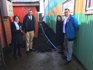 Alcalde Vera destaca proyectos que se ejecutan en la Escuela de Quilquico