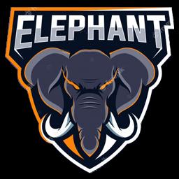 logo gajah esport