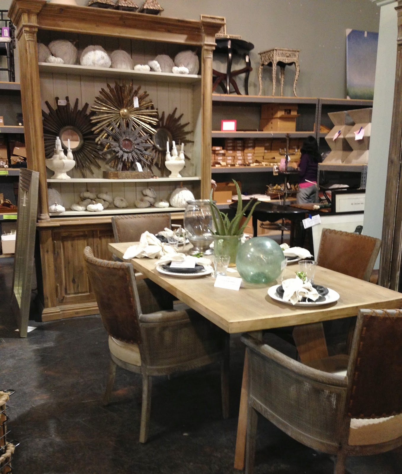 Dfw Furniture Gallery: My Visit To The Wisteria Outlet In Dallas!