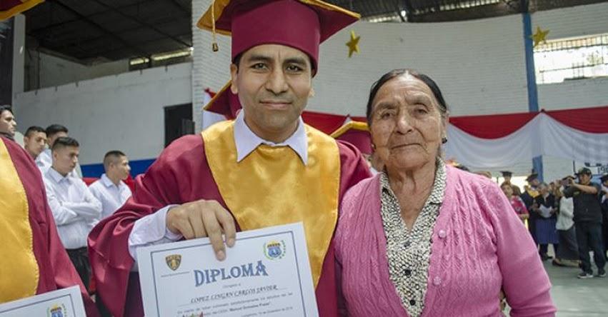 MINEDU: 55 internos de penal de Lurigancho culminan educación básica - www.minedu.gob.pe