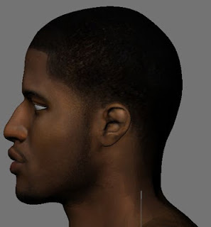 NBA 2K13 Paul George HD Cyber Face Mod