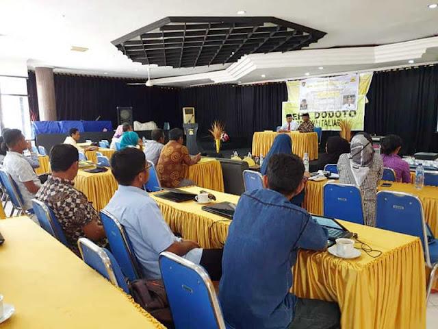 Salim Ganiru Launching Proyek Perubahan Leha Dodoto di Pulau Taliabu