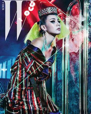 CL 2NE1 W Magazine March 2016