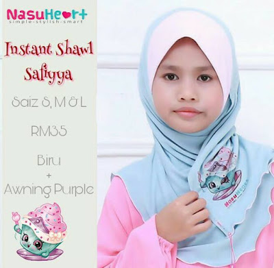 Instant Shawl Safiyya - SOLD OUT