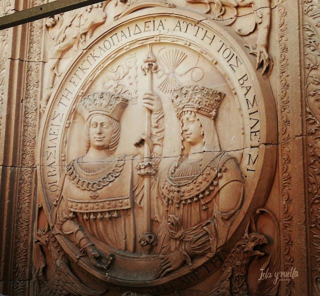 Salamanca Imprescindibles medallón Reyes Católicos