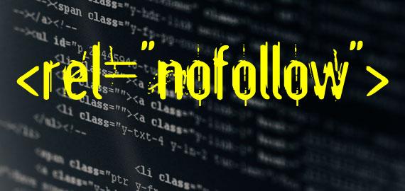 "mengunakan tautan rel ""nofollow"""