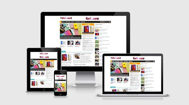 TdbNews2 responsive blogspot template