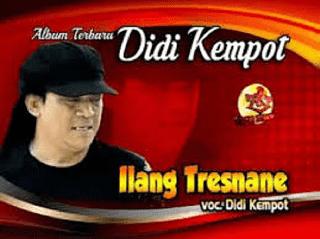 Lirik Lagu Ilang Tresnane - Didi Kempot