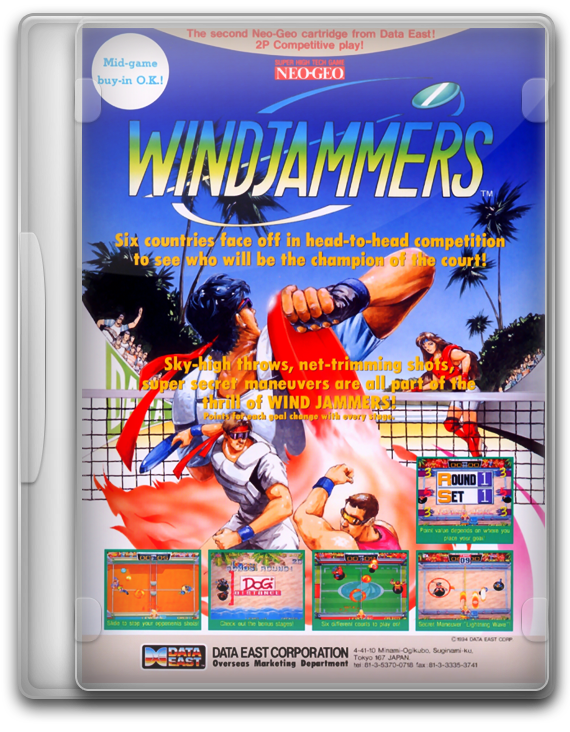 WindJammers Flying Power Disk (Neo Geo)