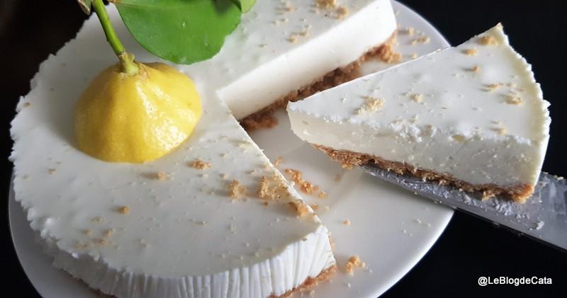 Cheesecake au fromage blanc et citron de Menton (sans cuisson)