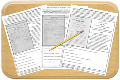 How do you teach legislation in your middle or high school Government or United States History classes? Consider these ideas for teaching bills, acts, and laws by analyzing primary sources to address your curriculum. Fun and engaging activities! #lessons #teaching #government