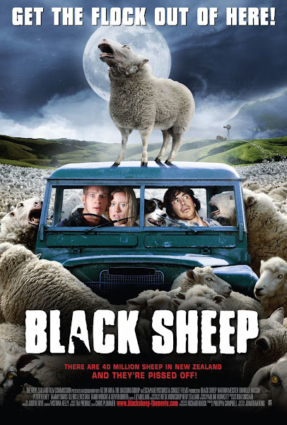 Poster Of Black Sheep 2006 Hindi 720p BRRip Dual Audio Full Movie Download