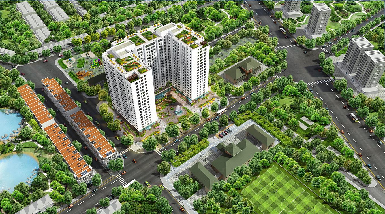 Phối cảnh dự án 82 Nguyễn Tuân