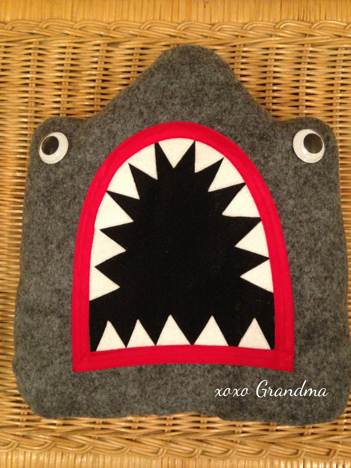 Xoxo Grandma Make A Halloween Baby Carrier Shark Costume