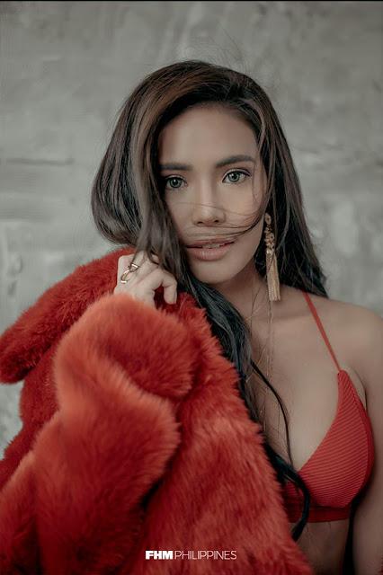 Myrtle Sarrosa FHM February 2018 Cover Babe