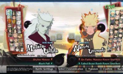 Naruto Shippuden Ninja Storm 4 Apk terbaru