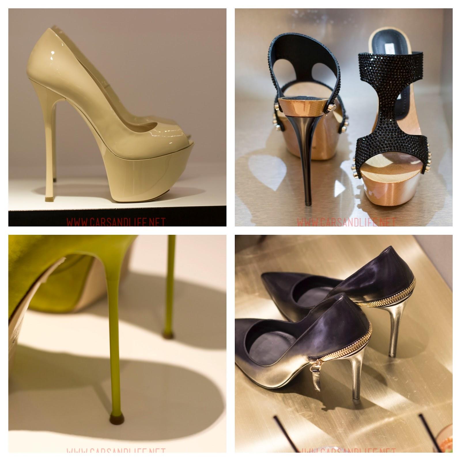 Gianmarco Lorenzi High Heels Spring Summer 2014 Collection