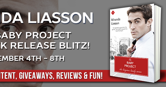 Book Review, Giveaway: THE BABY PROJECT by Miranda Liasson