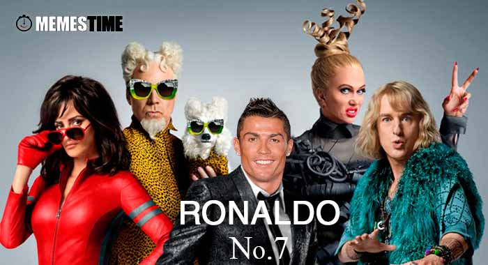 GIF Memes Time… da bola que rola e faz rir - Cristiano Ronaldo wants to make his CR7 brand not only famous on the  Football fields but also on the world of fashion by MemesTime.com – Fashion is his middle name