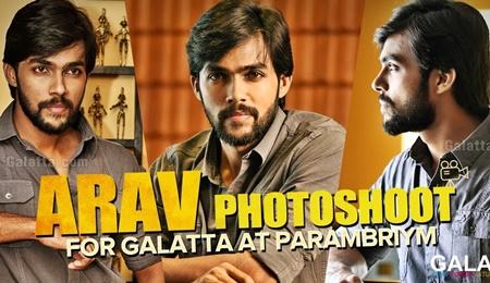 Exclusive Video: Arav Photoshoot at Parambriym