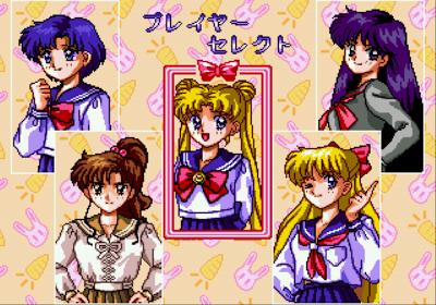 Sailor Moon jeu vidéo