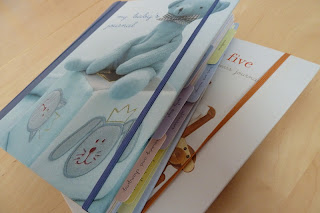 Two baby journals