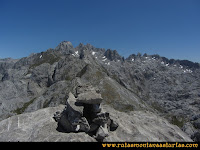 Cima del Cotalba, en Picos de Europa