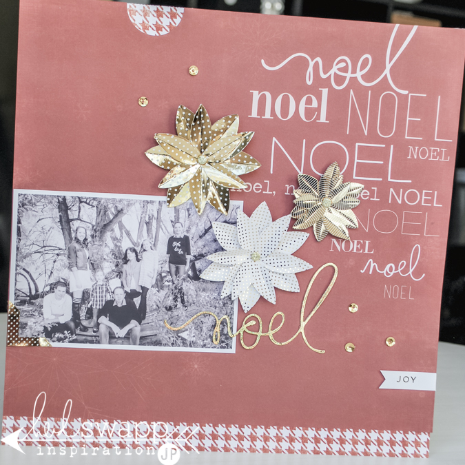 How to create Minc Christmas Glitter Foil die cut in 6 easy steps. @jamiepate for @heidiswapp