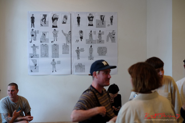 Art documentation of - UNIFORM By Joe Wilson & Chanelle Collier at Lilac City Studio - Photography by Kent Johnson.