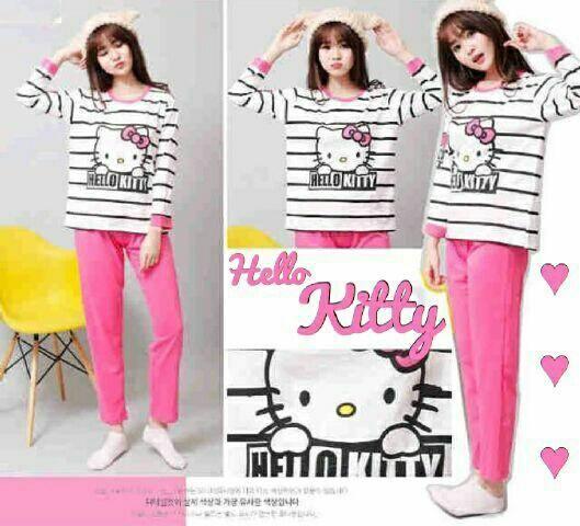 Jual Baju Tidur Piyama Hello Kitty - 12956
