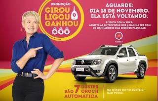 Promoção Girou Ligou Ganhou da Renault 2016 com a Xuxa