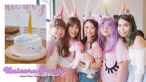 How to plan a Wonderland of Unicorn Party: The Butterfly Project 5th Birthday Party