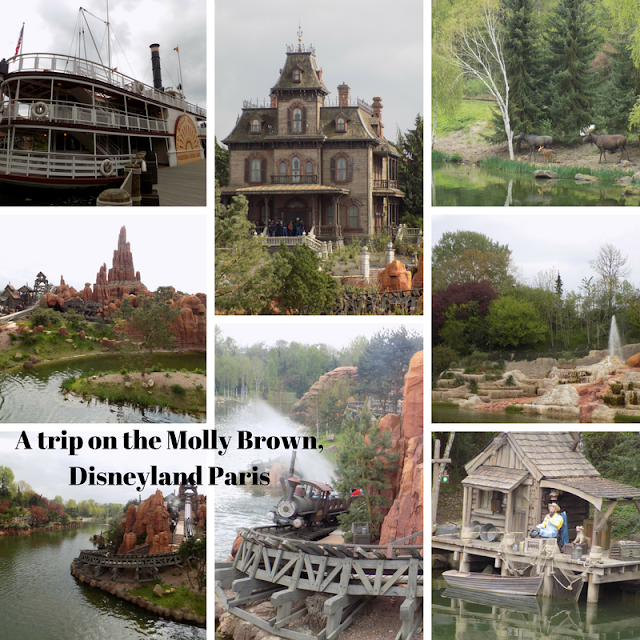 A trip on the Molly Brown, Disneyland Paris