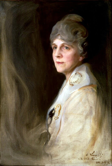 Florence Harding, Portrait of Florence Harding, Philip Alexius de László, International Art Gallery, Self Portrait, Art Gallery, Portraits of Painters, Fine arts, Self-Portraits, Painter  Philip Alexius de László