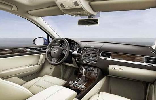 2018 Volkswagen Touareg Interior Design