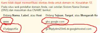mengganti domain blogspot ke. tk gratis selamanya