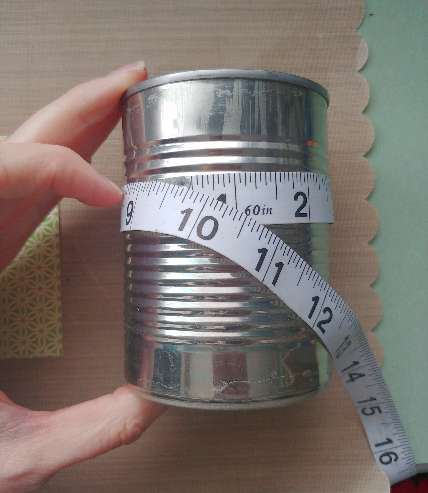 how to make a tin can hat candy container