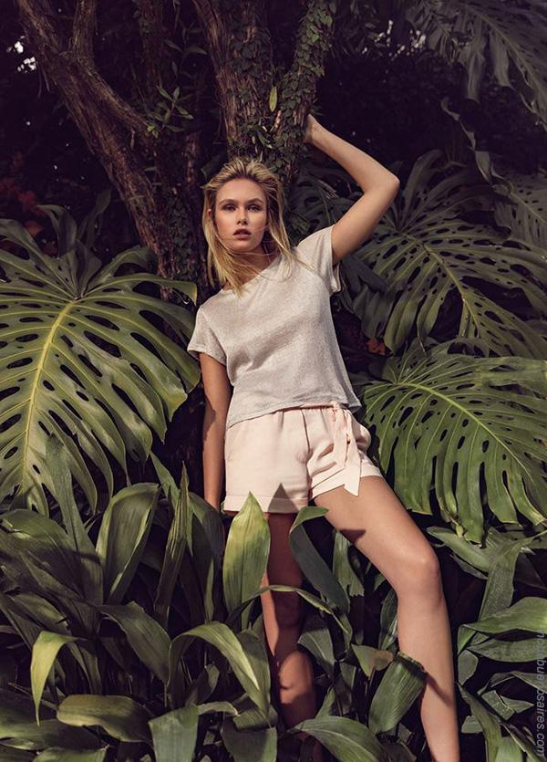 Moda primavera verano 2018 | Ropa de mujer, blusas y pantalones Zhoue colección primavera verano 2018.
