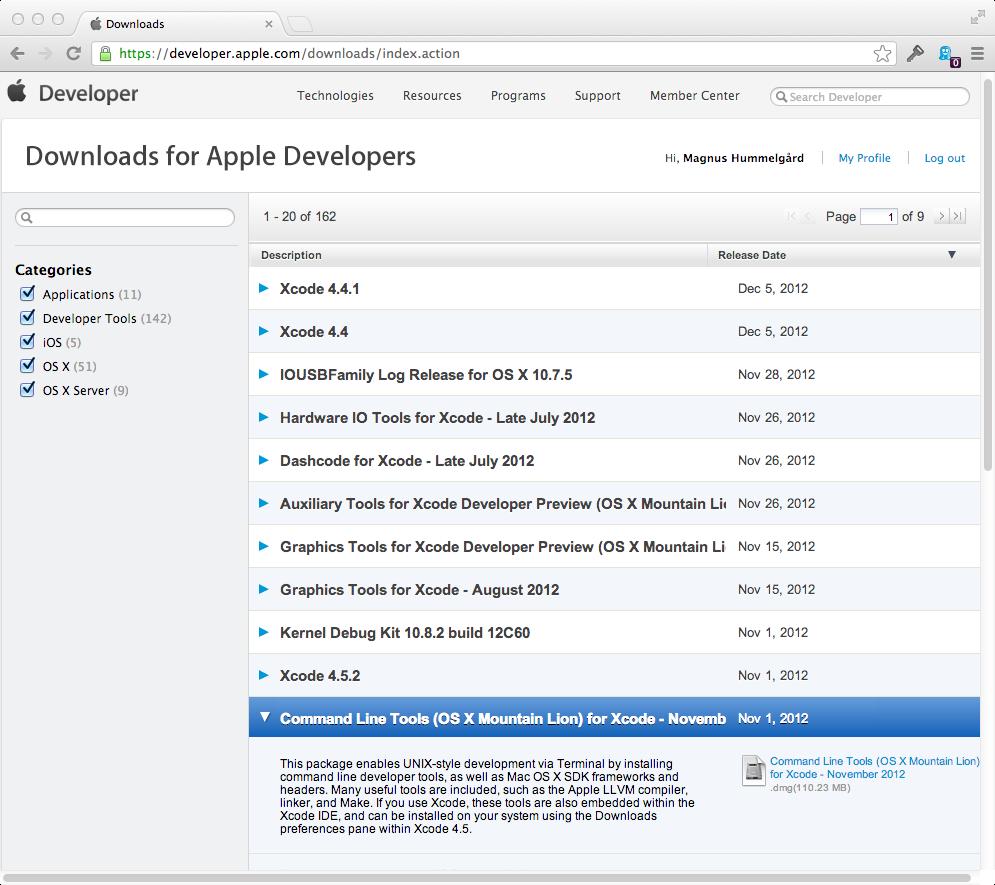 install gnuplot mac os x 10.7