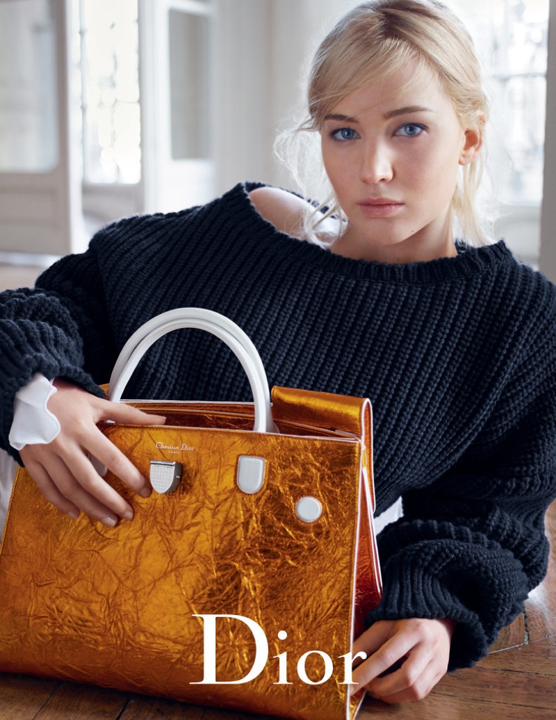 Jennifer Lawrence for Dior Handbags Spring/Summer 2016