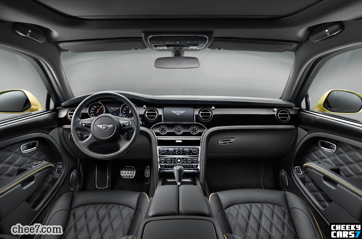 Bentley Mulsanne Speed Dashboard Pictures And Video Full