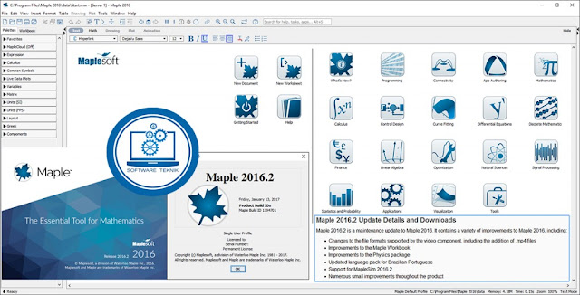 Maplesoft Maple 2016