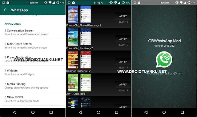 Download GBWhatsapp Mod (GBWhatsapp+GBWA2+GBWA3) v5.15 Apk