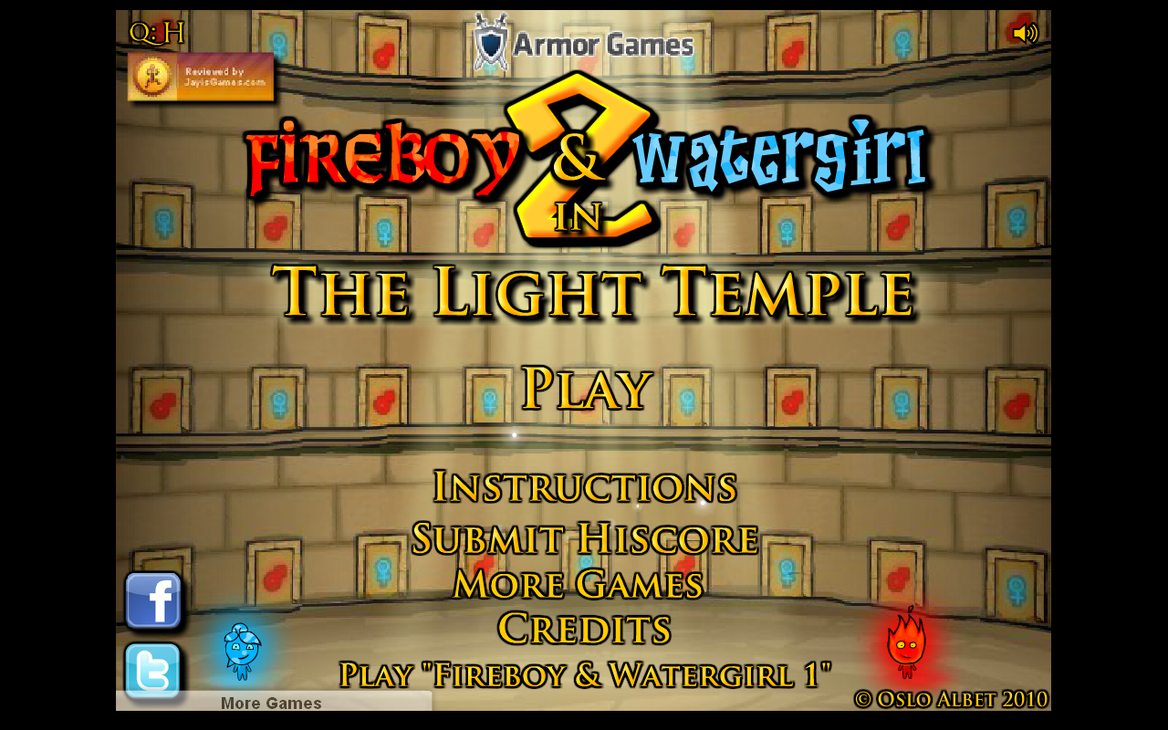 Fireboy and Watergirl 2 : The Light Temple SWF Download | FulL AnD