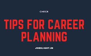 Tips for career planning