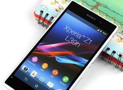 Dich vụ thay màn hình Sony Z1