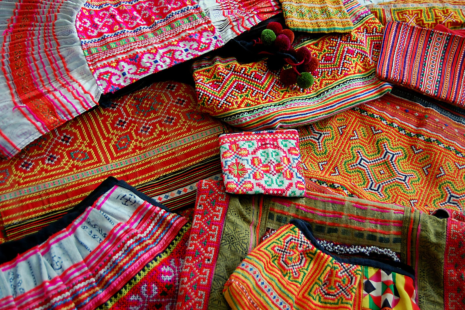Not Your Average Ashley: Current Obsession: Hmong Embroidery