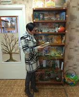 выставка в библиотеке, Мозырь